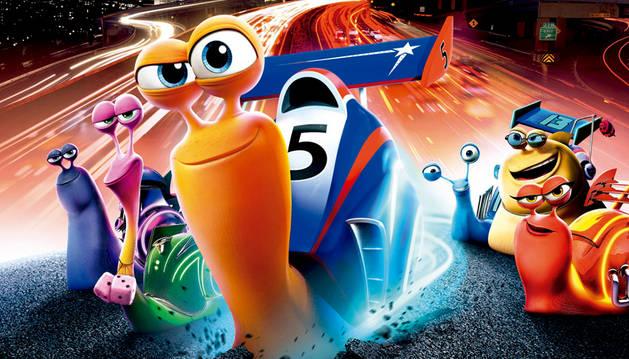Cartel de la película 'Turbo'.