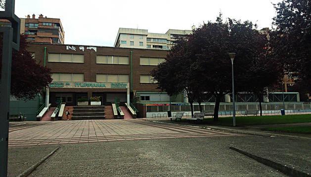 Fachada del instituto Iturrama.