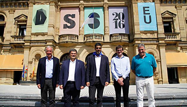 Visita de Asiron al alcalde de san Sebastián.