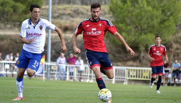Amistoso Osasuna 0-1 Zaragoza