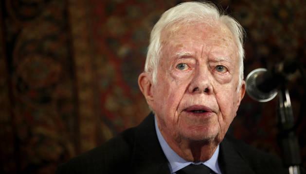 El expresidente de EE UU, Jimmy Carter.