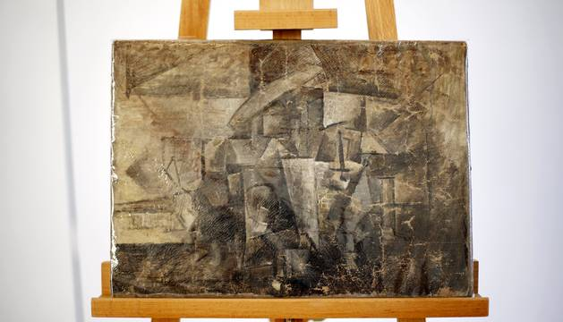 El cuadro robado de Picasso 'La Coiffeuse'.