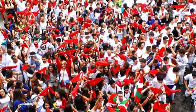 Fiestas en tafalla del 14 de agosto de 2015