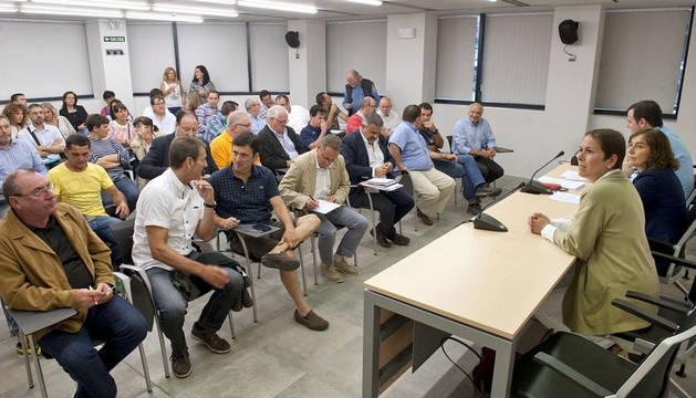 Barkos respalda la viabilidad de las federaciones deportivas