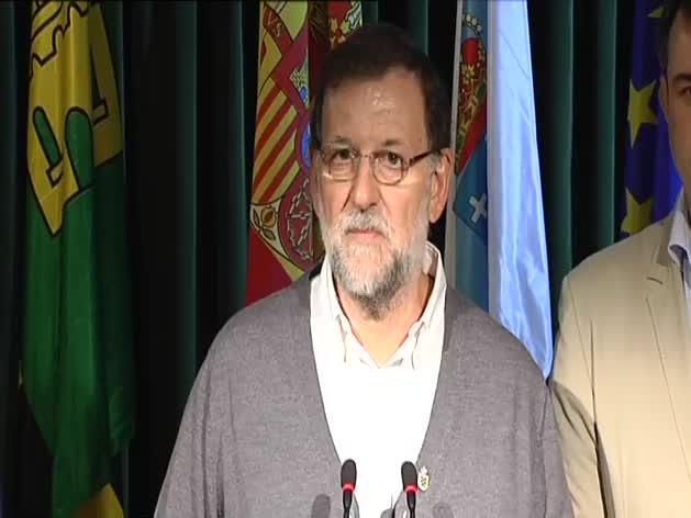 Rajoy aplaude las explicaciones de Fernández Díaz sobre su reunión con Rato