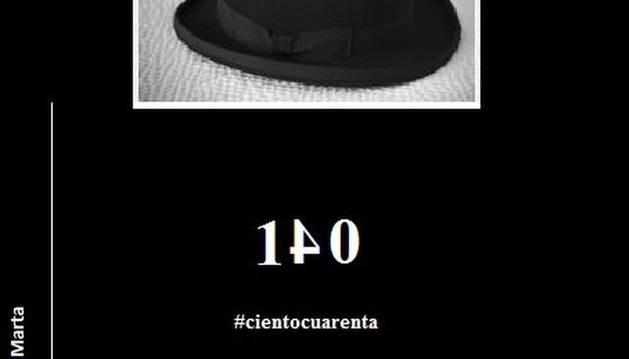 Portada de  '140 #cientocuarenta'.