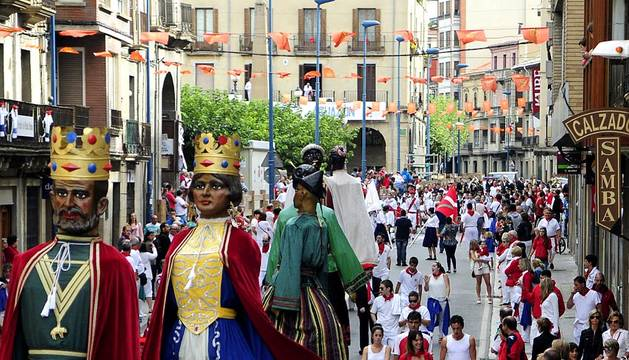 Fiestas en Tafalla - 15 de agosto