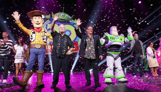 John Lasseter en la 'D23 Expo' de Anaheim.