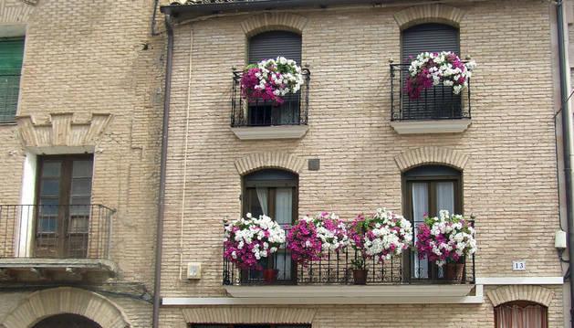 Imagen del balcón ganador del concurso.