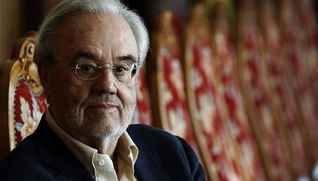 El escritor y cineasta Manuel Gutiérrez Aragón.