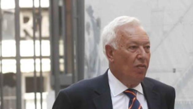 Margallo, este martes en el Congreso.