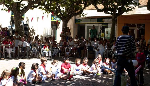 Fiestas en Tafalla del 19 de agosto de 2015