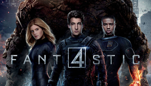 Cartel de 'Fantastic four'.