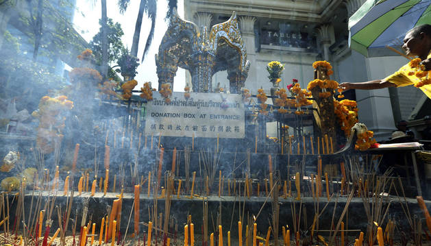 La Policía cree que hay 10 implicados en el atentado de Bangkok