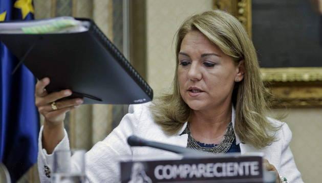 La secretaria de Estado de Servicios Sociales e Igualdad, Susana Camarero.