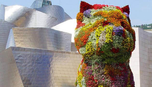 Imagen de 'Puppy', la mascota del Guggeheim de Bilbao.