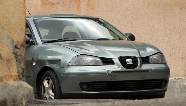 El vehículo de Sergio Morate, sospechoso del doble asesinato de Cuenca.