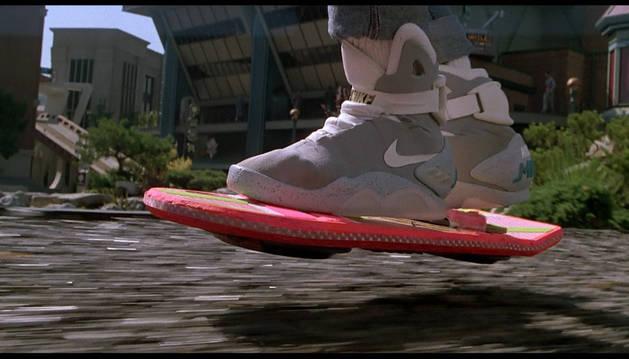 El patín sin ruedas de 'Regreso al futuro 2'.