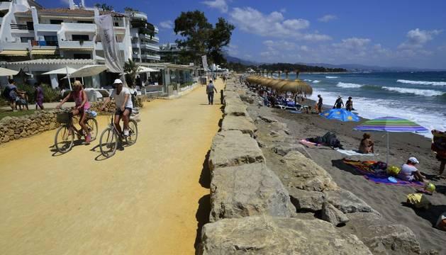 Polémico tramo de la primera etapa de la Vuelta.