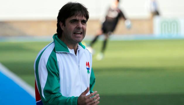 Alfredo Ibero, entrenador del San Juan.