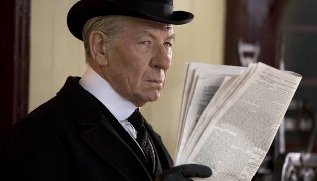 Ian McKellen, en un fotograma de 'Mr Holmes'.