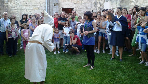 Visita teatralizada al monasterio de Iranzu.
