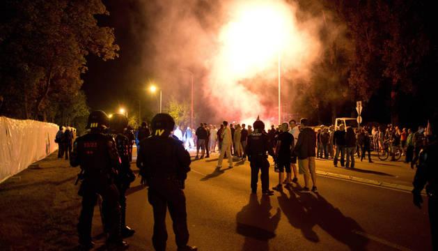 Una protesta anti-inmigración deja varios heridos en Alemania