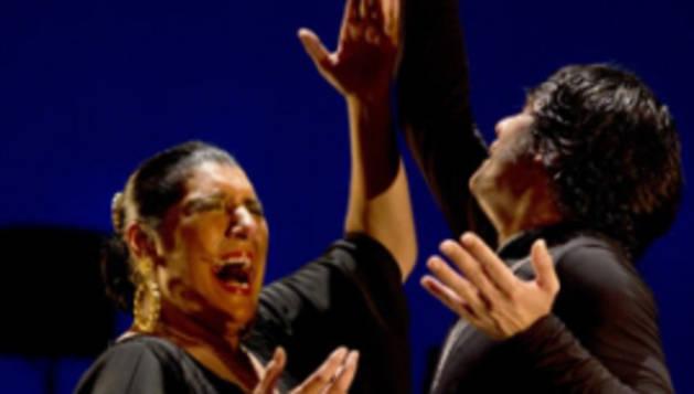 Remedios Amaya, durante una actuación.