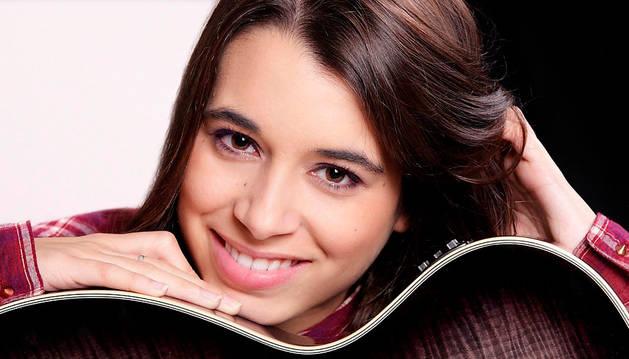 La cantante Paula Rojo.
