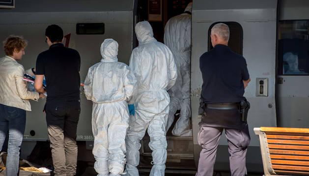El tirador del tren entre Holanda y Francia dice que su objetivo era robar