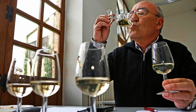 Anterior edición del concurso de vino ecológico.