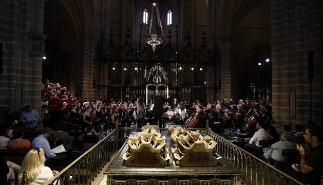Misa flamenca en la catedral de Pamplona