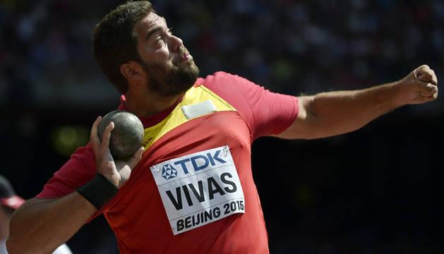 Borja Vivas, eliminado en peso