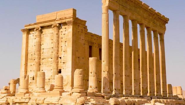Yihadistas del EI dinamitan el histórico templo de Baal, en Palmira