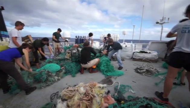 Nueva estrategia de limpieza marina