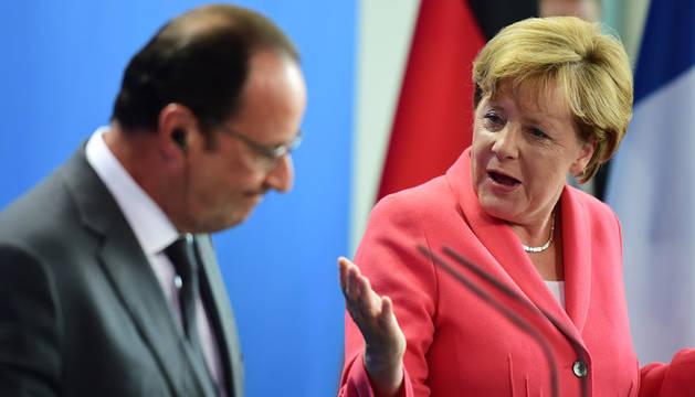 Merkel y Hollande presentarán una propuesta para una política de asilo