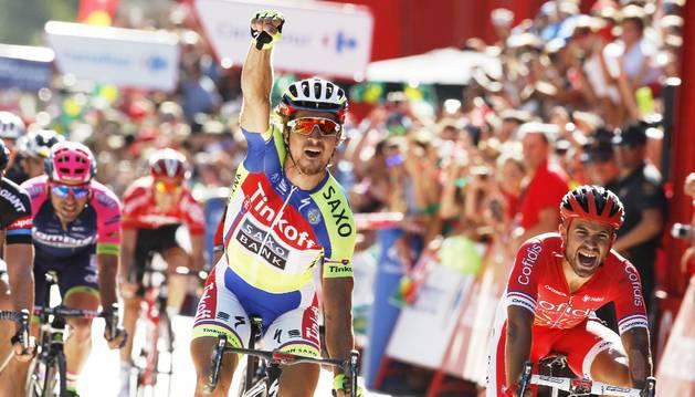 Sagan se impuso en Málaga.