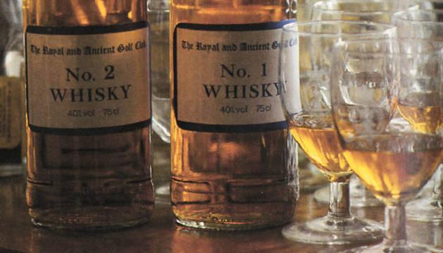 Botellas de Whisky.