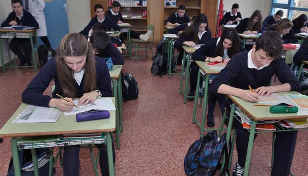 Estudiantes del Colegio Notre Dame