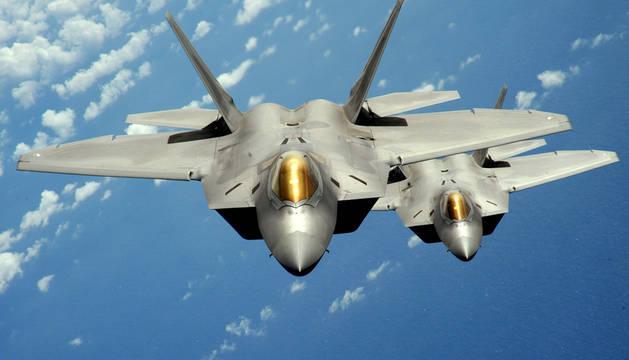 F-22 Raptor, uno de los aviones de combate más moderno y costoso.