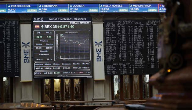 El IBEX 35 ignora el recorte de las bolsas asiáticas y sube un 1,5%