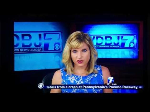 Trágico suceso en una televisión de Virginia (Estados Unidos)