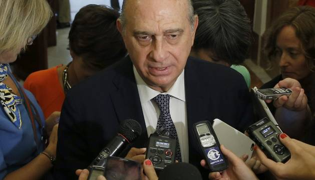 El ministro de Interior, Fernández Díaz.