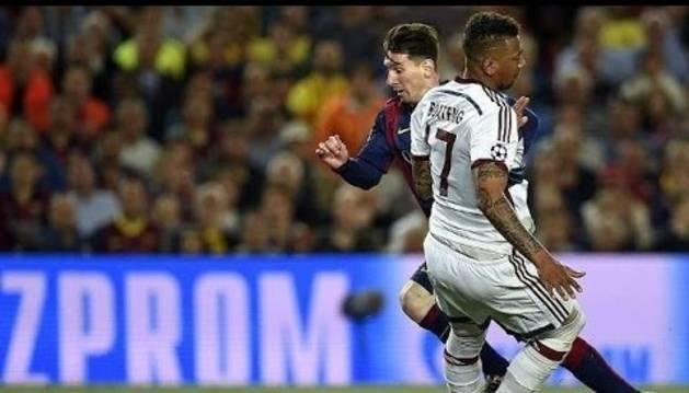 Gol de Messi al Bayern