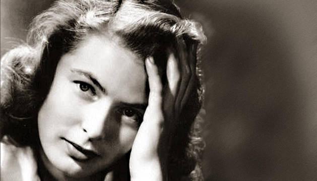 La actriz Ingrid Bergman.