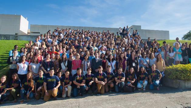 Jornadas de bienvenida de la Universidad de Navarra.
