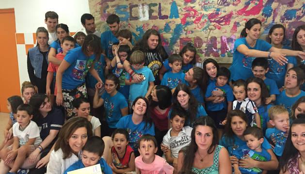 Escuela de verano con intervención terapéutica de la Asociación Navarra de Autismo.