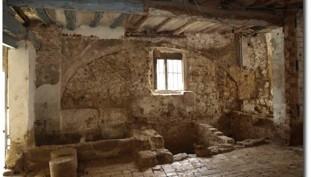 La tenería en el interior de La Casa de la Moneda, un hallazgo arqueológico reciente.