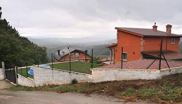 Vivienda de Ponteareas donde tuvieron lugar los hechos.