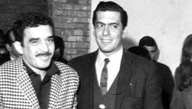 Gabriel García Márquez y Mario Vargas Llosa.